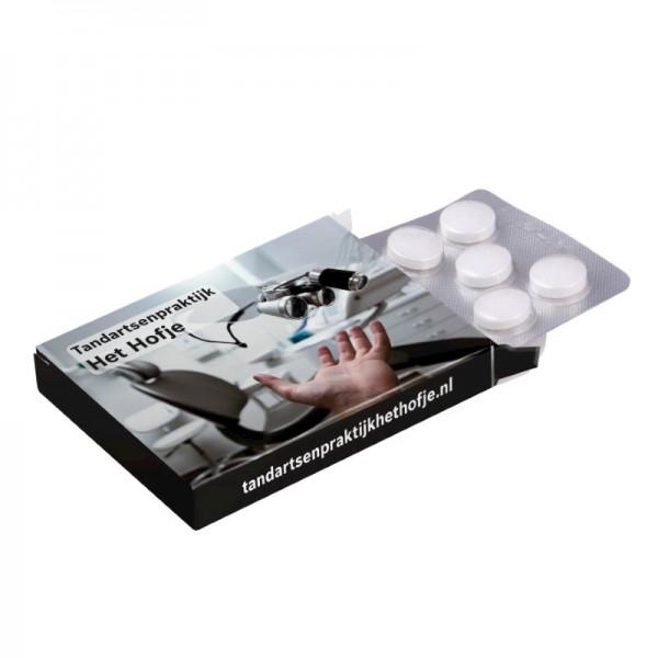 Medicijndoosje met blister 10 stuks