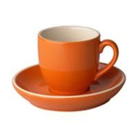 Robusta Koffie oranje 14 cl. SET