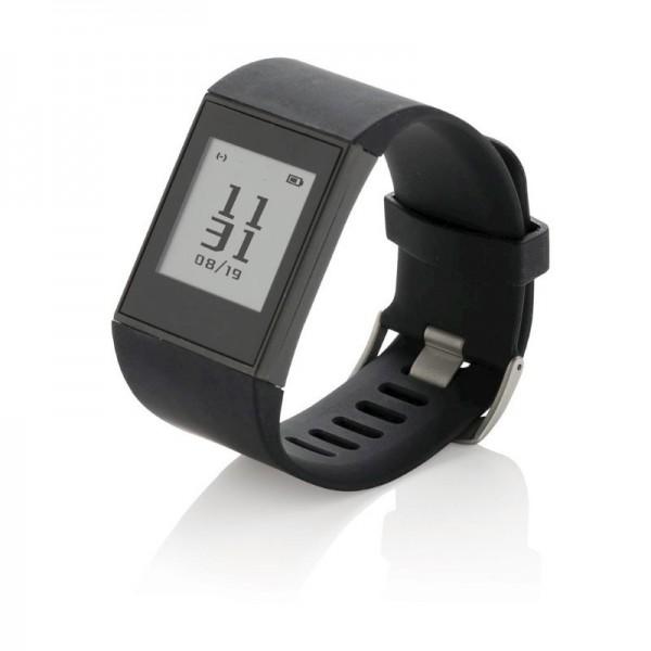 Multi-sport E-ink horloge, zwart