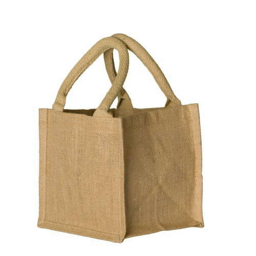 Jute shopper mini 24 x 20 x 15 cm, 130 grams