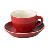 Robusta Cappuccino rood 18 cl.SET