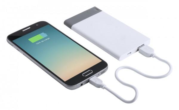 USB power bank en flits