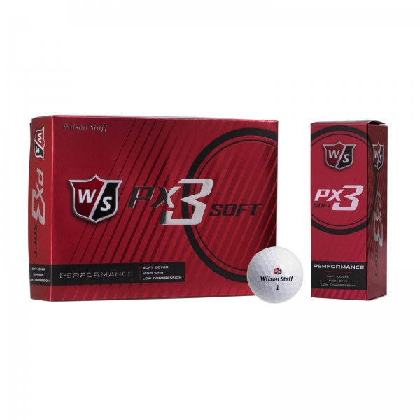 Wilson PX3 Soft Golfbal
