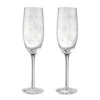Twee champagneglazen 22