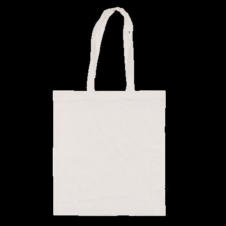 Katoenen draagtas wit 39 x 41 cm