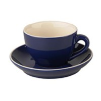 Robusta Cappuccino blauw 18 cl.SET