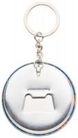 button sleutelhanger met pin