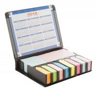 notitieblok met kalender