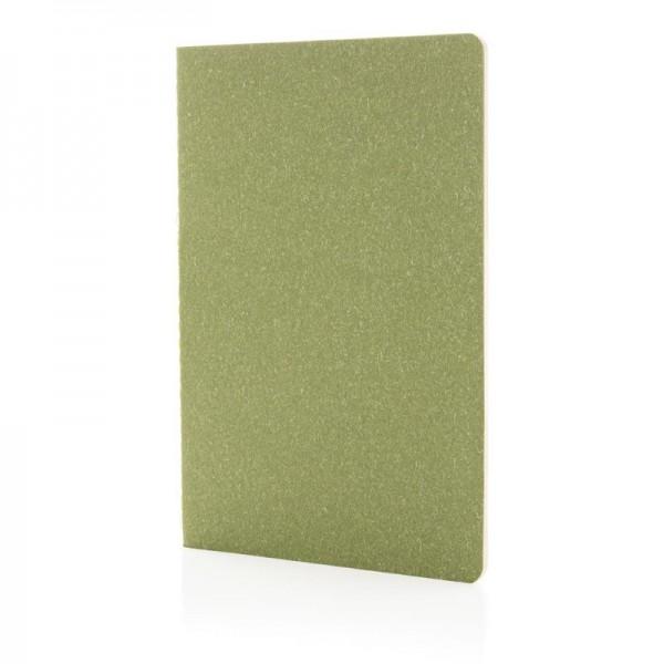 A5 standard softcover slim notitieboek, groen