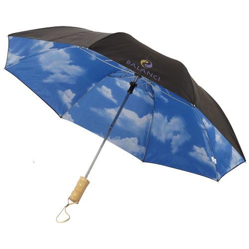 "Blue-skies 21"" opvouwbare automatische paraplu"