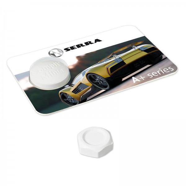 Creditcard met 1 moer pepermunt