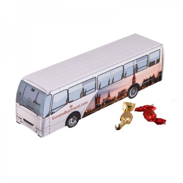 Bus metallic sweets