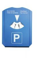 PS parkeerschijf met munten