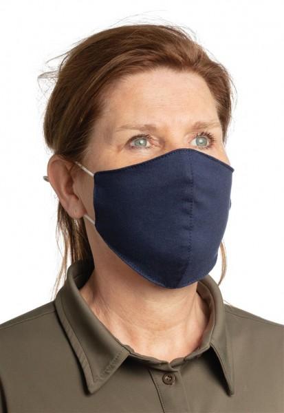 Herbruikbaar 2 laags katoenen gezichtsmasker, wit