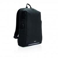 Swiss Peak RFID USB laptop rugzak PVC-vrij