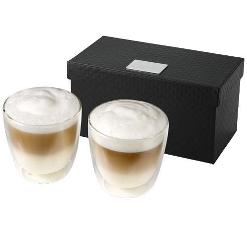 Boda 2-delige koffieset van glas
