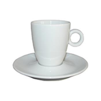 Bola Koffie hoog wit 19 cl. SET