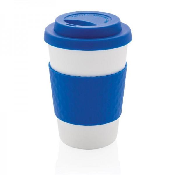 Herbruikbare koffiebeker 270ml, blauw