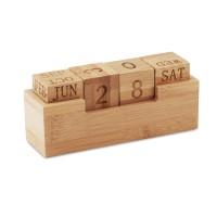 Bureaukalender bamboo 40