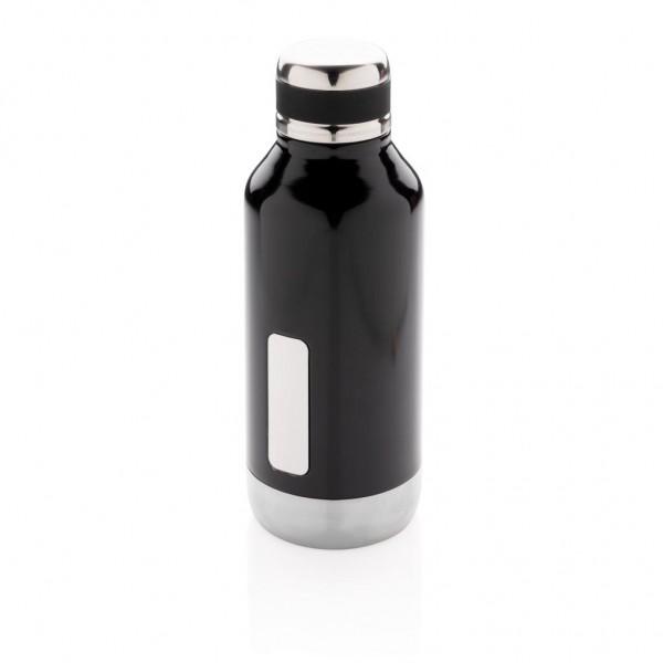 Lekvrije isolatie fles met logo plaatje