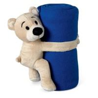 Fleece deken met beer 04