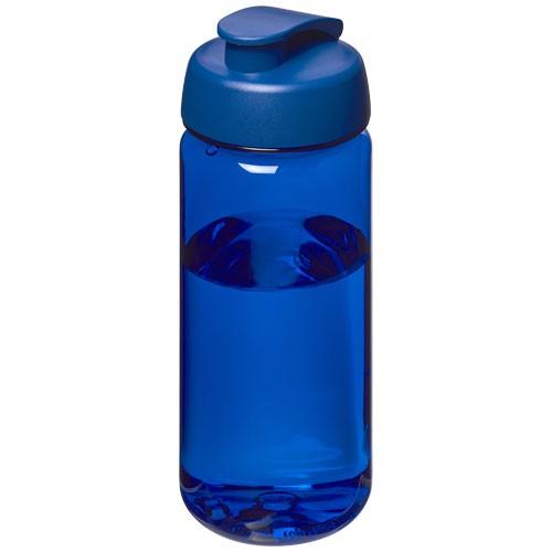 H2O Octave Tritan™ 600 ml sportfles met flipcapdeksel