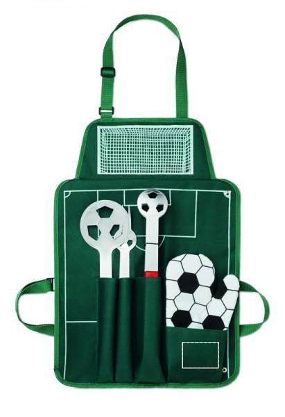 Voetbal BBQ-set