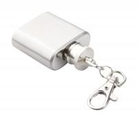 mini heupfles aan sleutelhanger