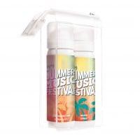 Set zonnebrandspray & waterspray WHITE