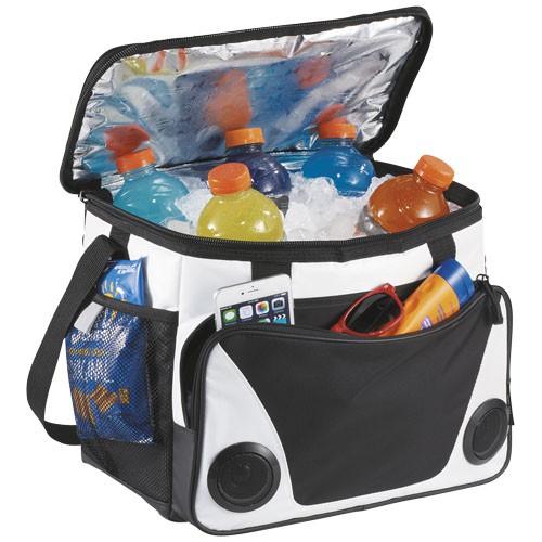 Titan ThermaFlect® koeltas met luidsprekers voor 24 blikjes