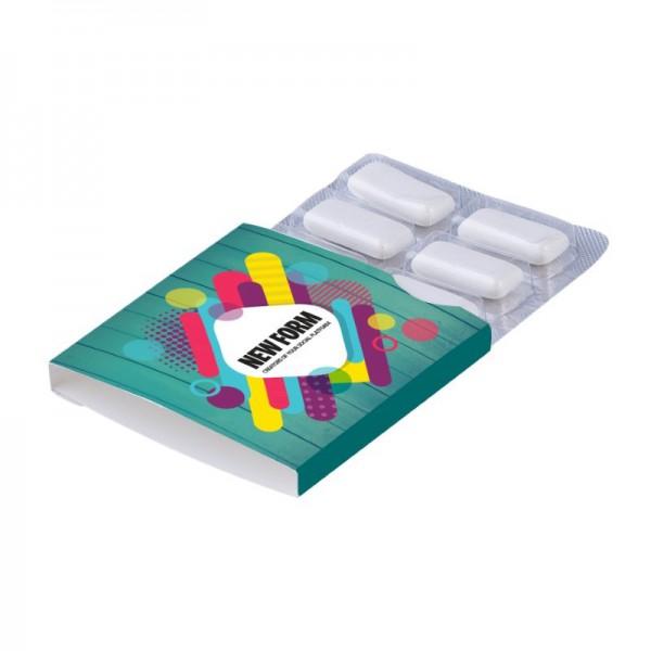 Kauwgomblister 6 stuks