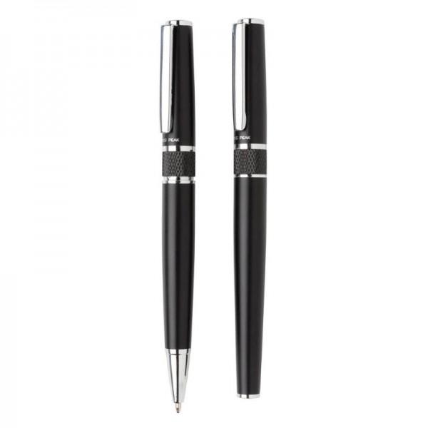Swiss Peak deluxe pen set, zwart