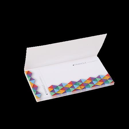 Sticky notes in omslag 2 in 1 135x75 mm 25 vel