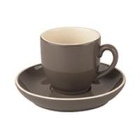 Robusta Koffie grijs 14 cl. SET