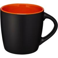 zwart, oranje