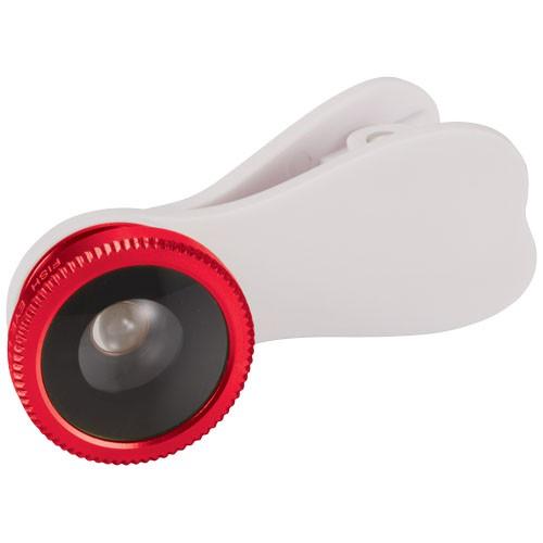 Fish-eye telefoonlens met clip