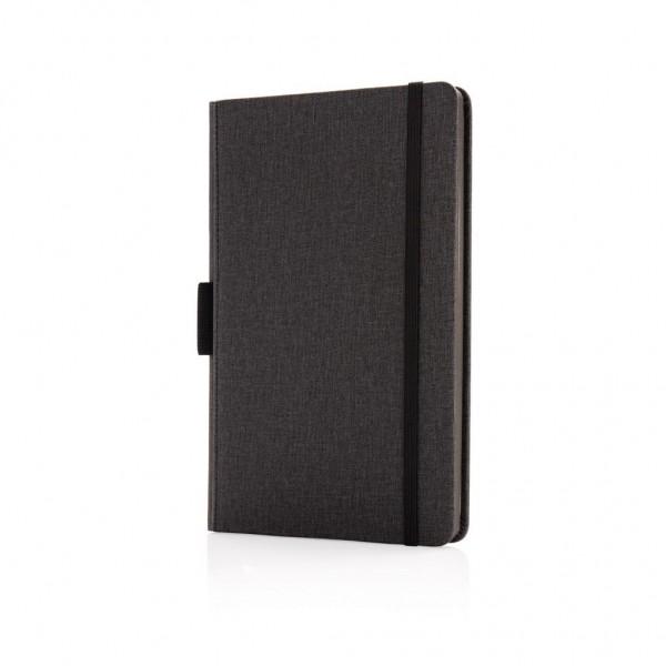 Luxe A5 notebook met penhouder
