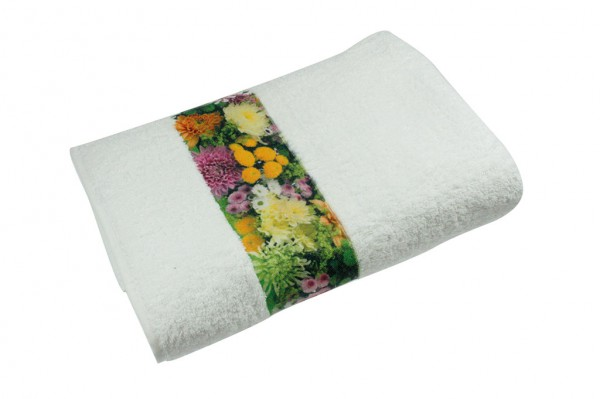 Sophie Muval Towel with Polyester Border 70 x 140 cm