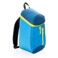 blauw, geel (± pms 295/106)