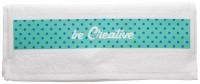 Handdoek met sublimatiedruk 30 x 50 cm