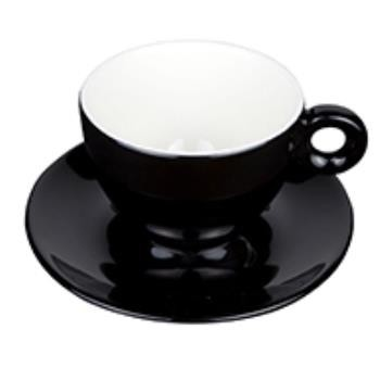 Bola Cappuccino zwart-roomwit 20 cl. SET