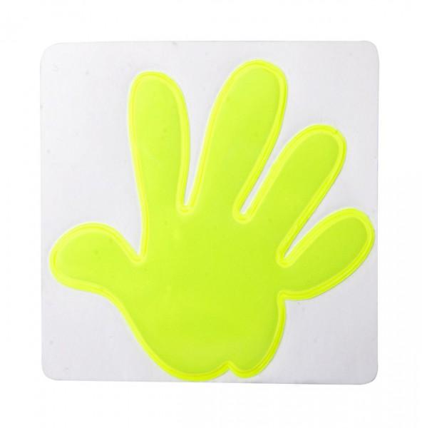 reflector sticker hand