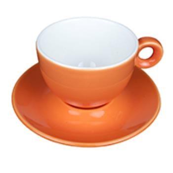 Bola Cappuccino oranje-roomwit SET